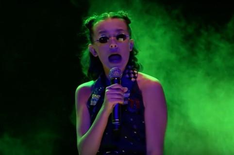 Millie Bobby Brown rapea en el programa del presentador Jimmy Fallon. Pulzo.