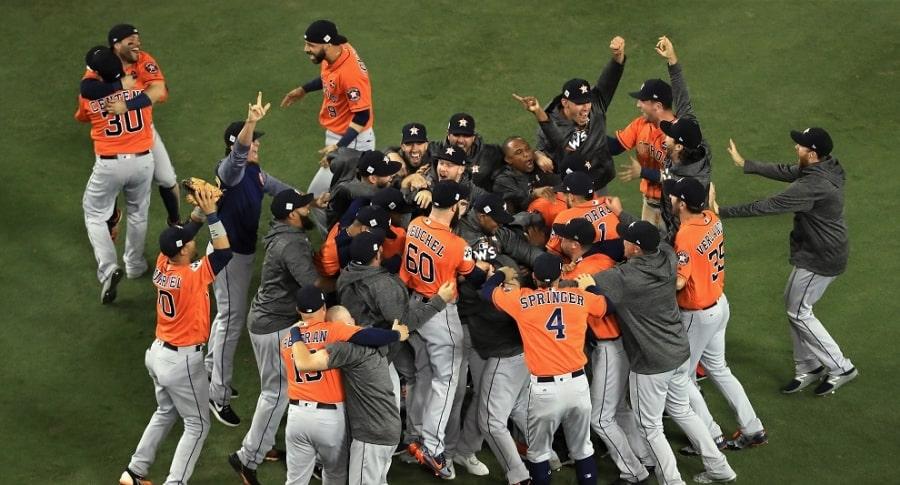 Astros ganan la Serie Mundial