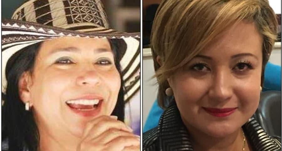 Yamina del Carmen Pestana Rojas y Tatiana Cabello Flórez