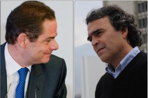 Germán Vargas Lleras y Sergio Fajardo