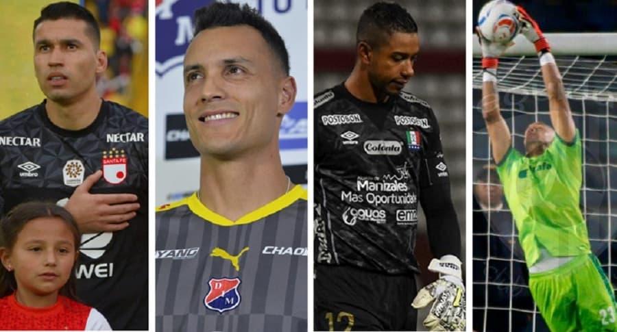 Catellano, González, Cuadrado y Bonilla