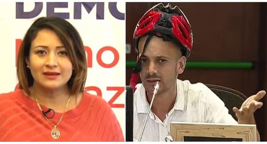 Tatiana Cabello y Santiago Jaramillo