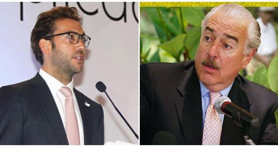 Martín Santos y Andrés Pastrana