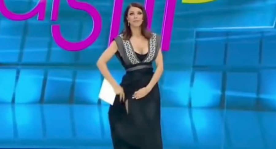 Ilinca Vandici, presentadora rumana.