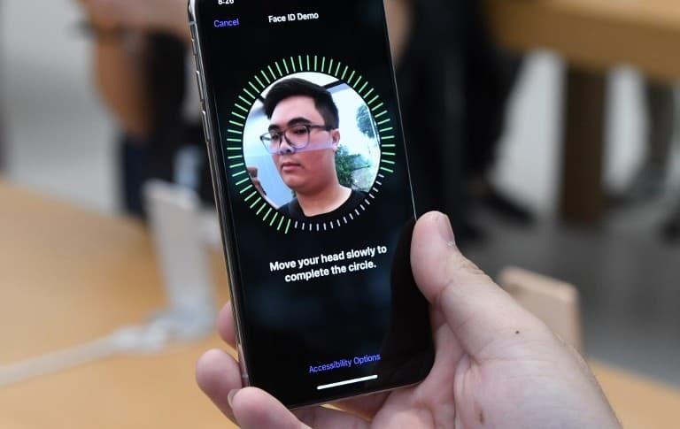 Face ID del iPhone X
