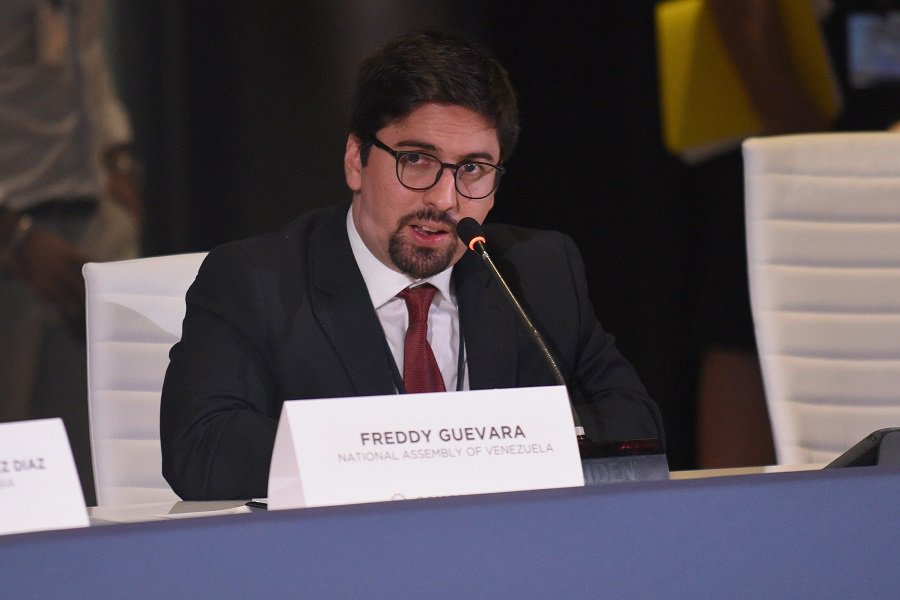 Freddy Guevara, vicepresidente de Parlamento opositor