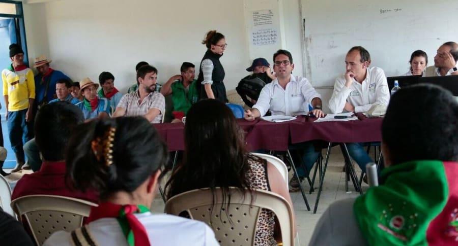 Diálogo de Gobierno y comunidades indígenas