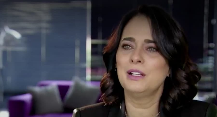 Actriz Jacqueline Arenal. Pulzo.
