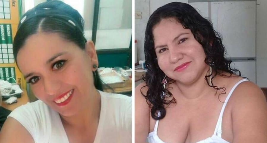 Adriana Marcela Amado y Yeini Margarita Pineda León