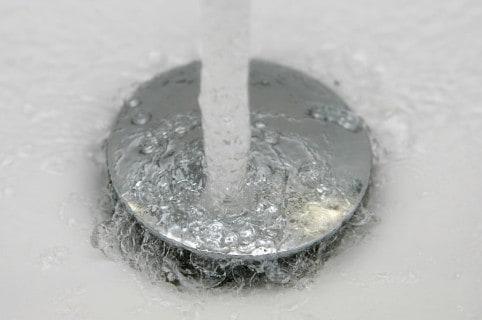 Agua, lavamanos