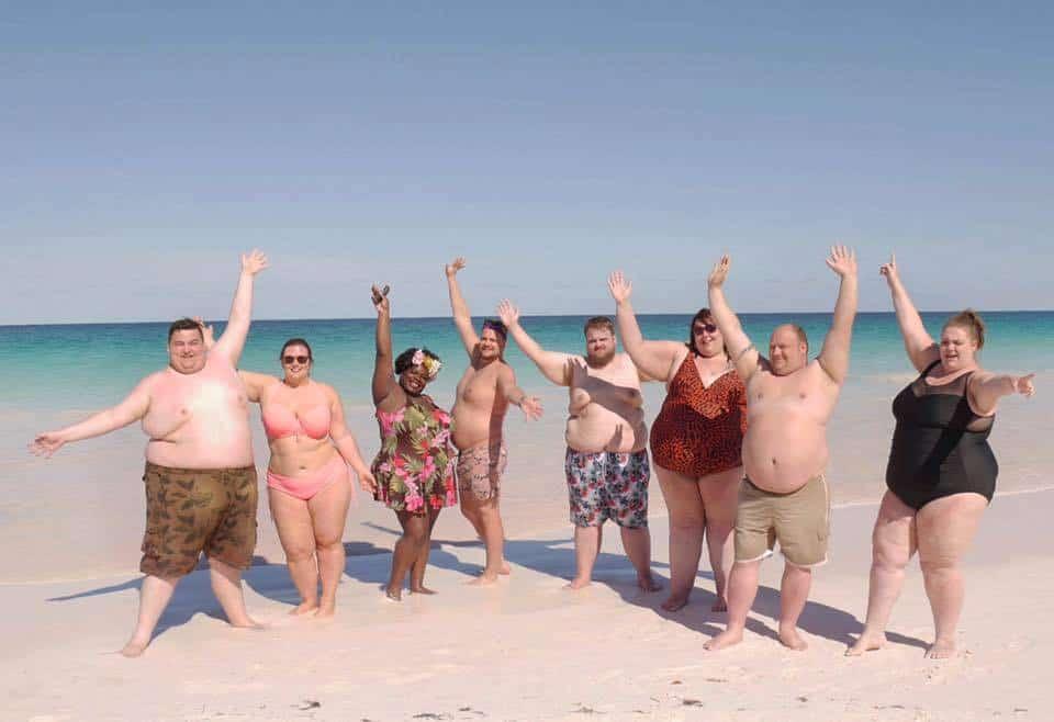 Huéspedes de hotel para personas obesas 'The Resort'. Pulzo.