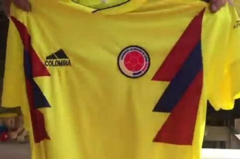 Camiseta chiviada de la Selección Colombia