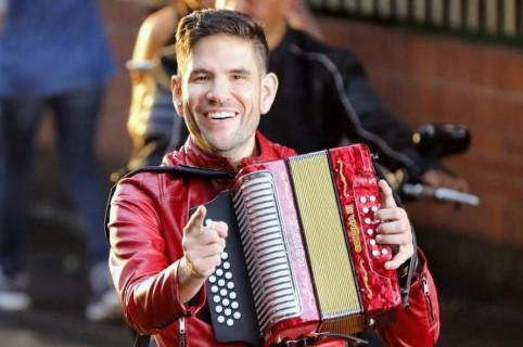Juancho de la Espriella, acordeonero.