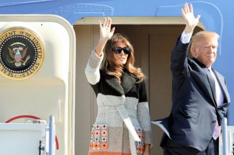 Melania y Donald