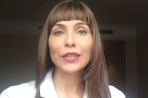 Lorena Meritano, actriz.