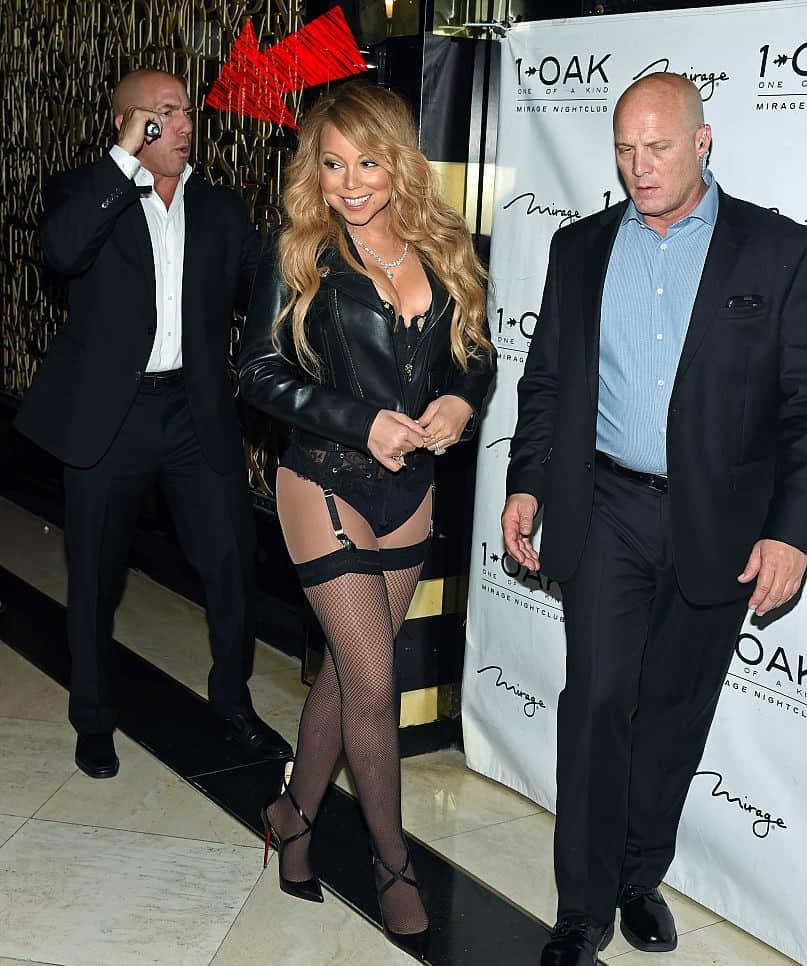 Michael Anello y Mariah Carey
