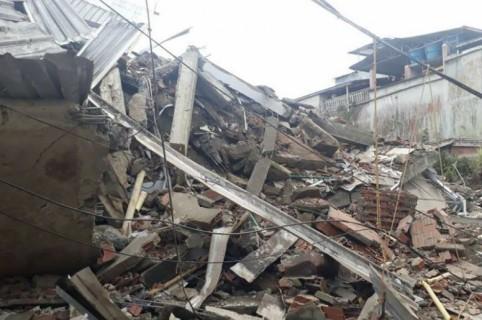 Edificio que colapsó en Buenaventura