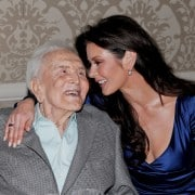 Kirk Douglas y Catherine Zeta-Jones