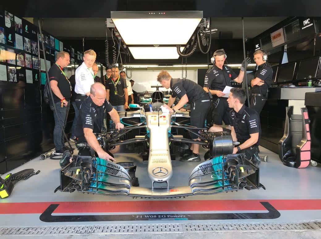 Equipo Mercedes
