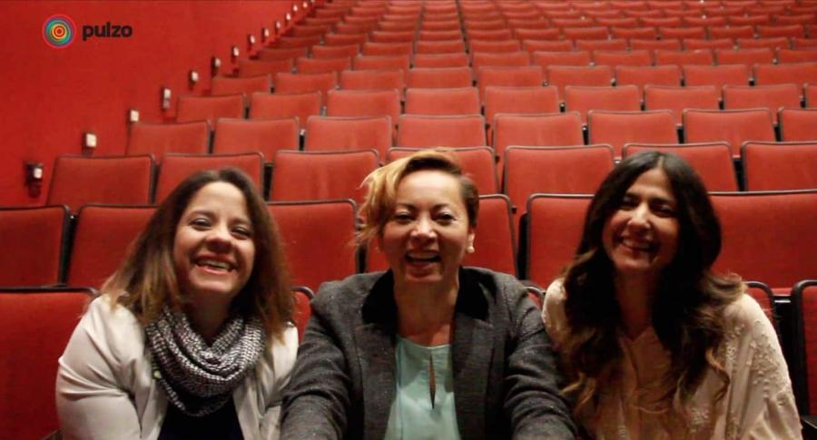 Claudia Ávila, Aida Morales y Aida Bossa