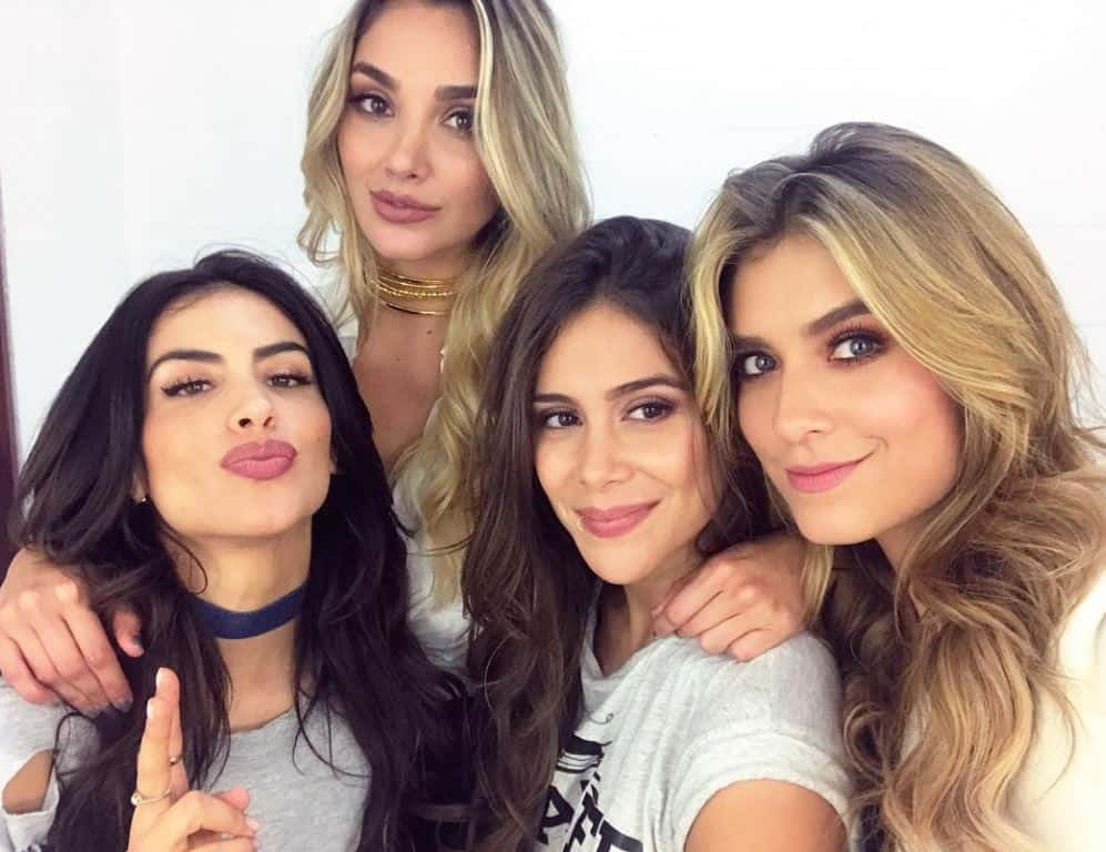 Jessica Cediel, Melina Ramírez, Greeicy Rendón y Laura Tobón