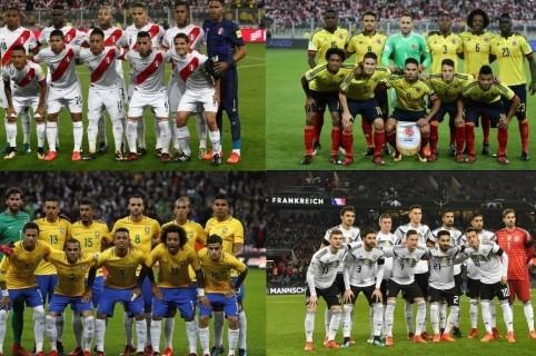 productos de calidad mejor calidad selección mundial de Estos son! Los 32 equipos que jugarán el Mundial de Rusia 2018