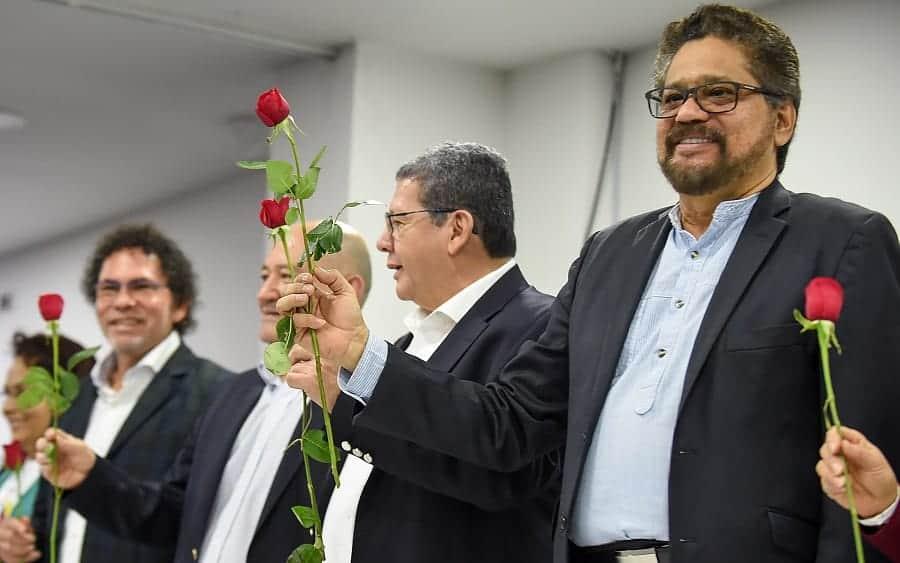 Integrantes de la dirigencia de la Farc
