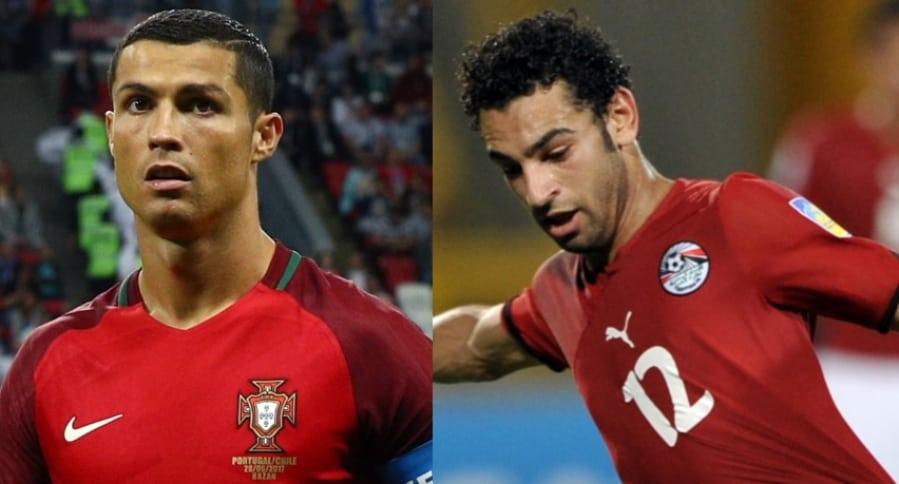 Cristiano Ronaldo / Mohamed Salah