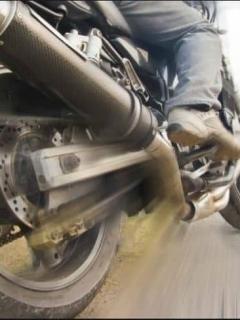 Los secuestradores iban en motos