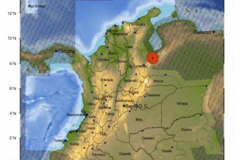 Sismos en frontera de Colombia con Venezuela