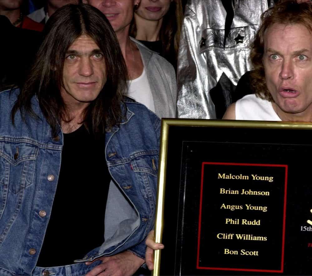 Malcolm y Angus Young, de AC/DC.