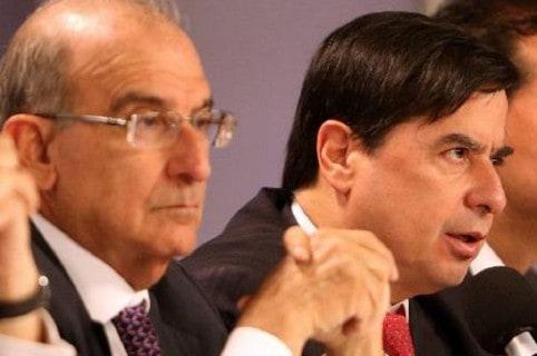 Humberto de la Calle y Juan Fernando Cristo