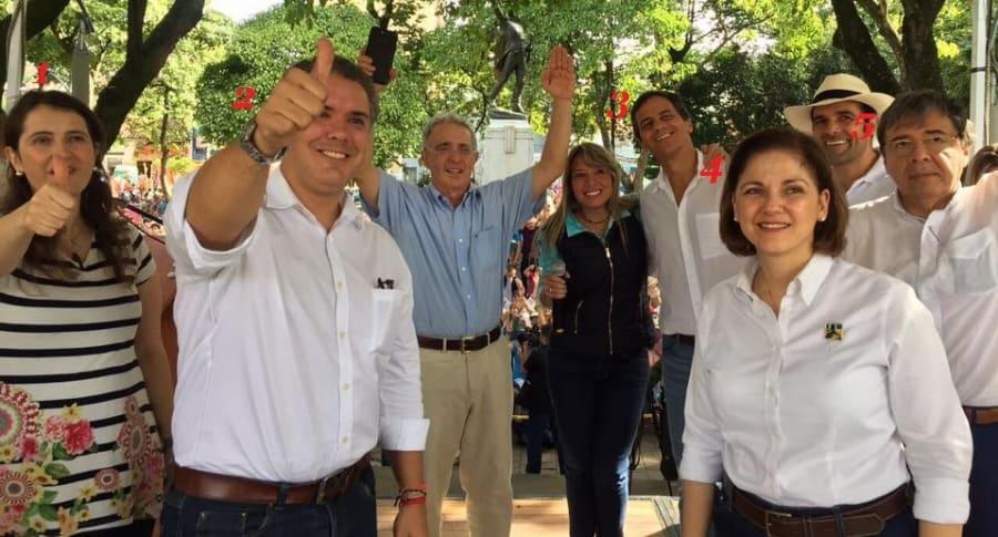 Uribe y los precandidatos