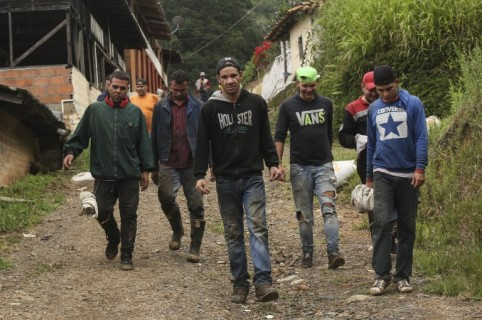COLOMBIA-VENEZUELA-CRISIS-EXILE-WORK