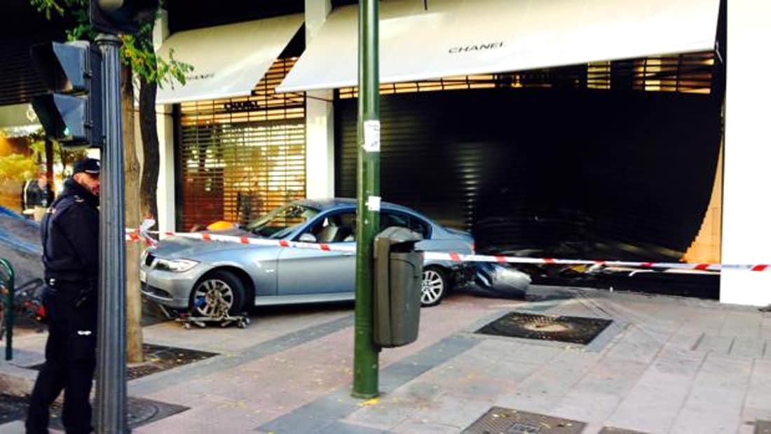 Robo en Madrid