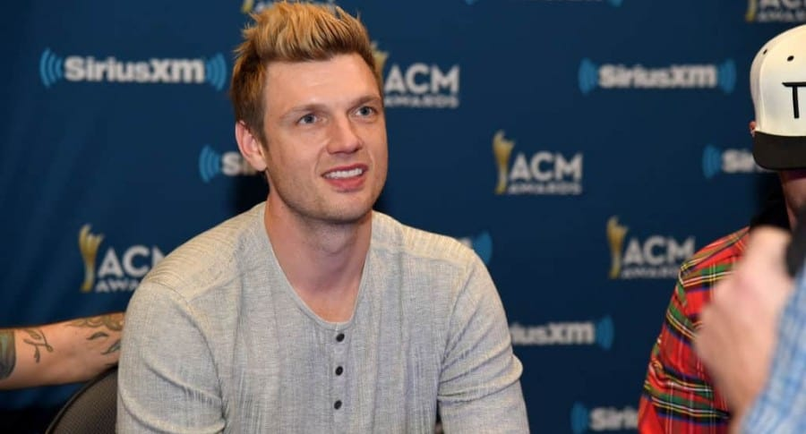 Nick Carter, cantante.