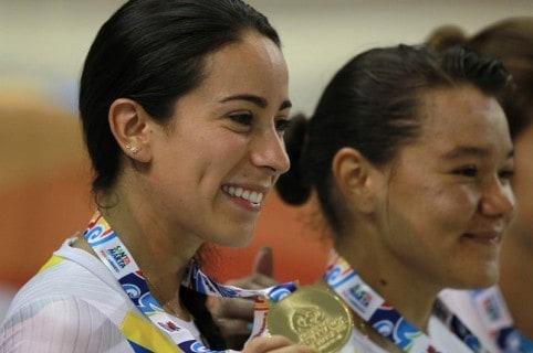 Mariana Pajón y Martha Bayona. Pulzo.
