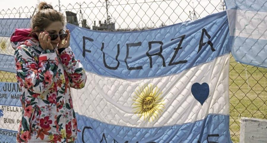 Familiar de marino argentino