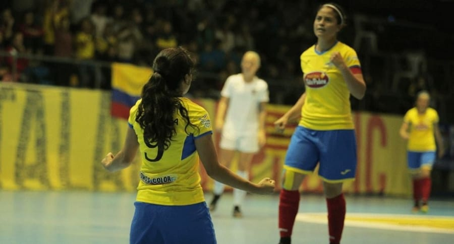 Selección  Colombia femenina de fútbol de salón