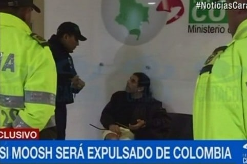 Assi Moosh, israelí detenido en Santa Marta. Pulzo.