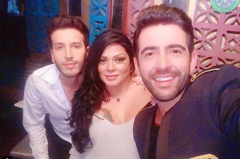 Sebastián Yatra, Marbelle y Alejandro González