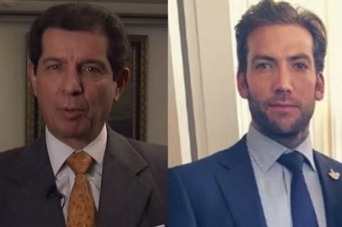 José Felix Lafaurie y Martín Santos