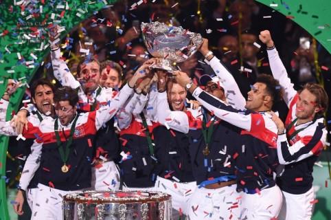 Francia campeón de la Copa Davis