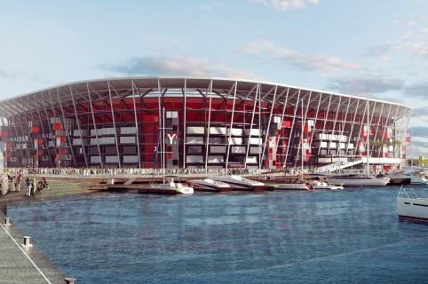 Estadio Ras Abu Aboud de Catar 2022
