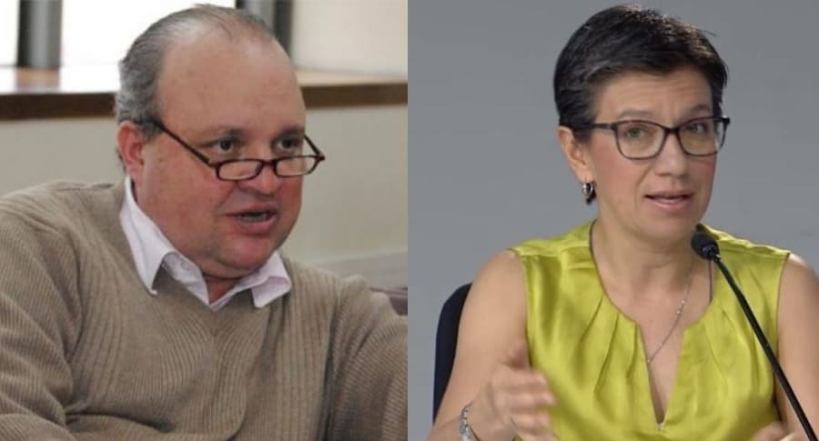 Jorge Vélez y Claudia López