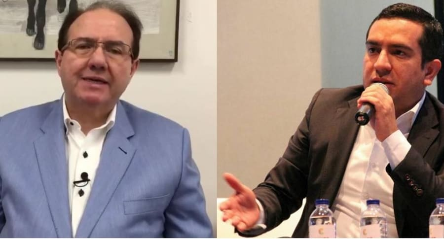 Leonidas Bustos y Edward Rodríguez