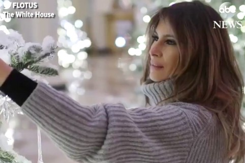 Melania navideña