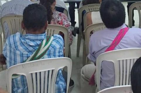 Dos jóvenes wayúu