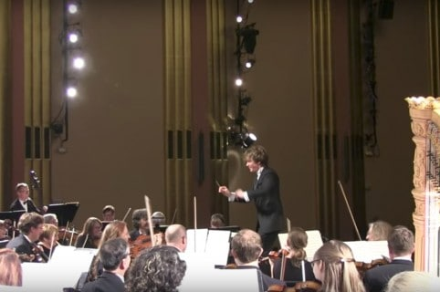 Orquesta sinfónica. Pulzo.