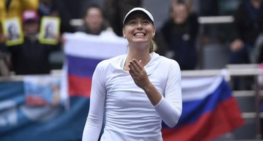 Maria Sharapova. Pulzo.